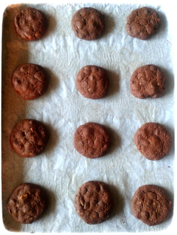 Cookies chocolate macadamia