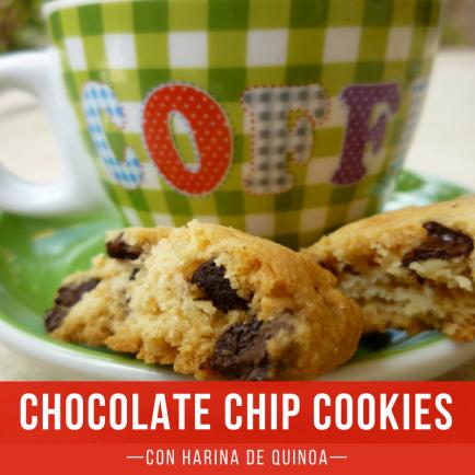Chocolate Chip cookies quinoa