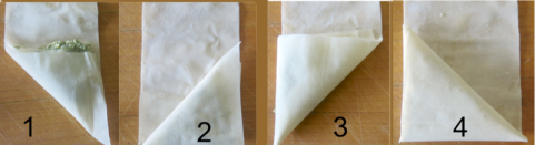 como hacer spanakopita