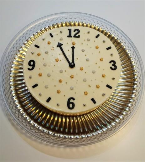 reloj tarta